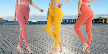 Women's High Waist Yoga Tight Sports Pants