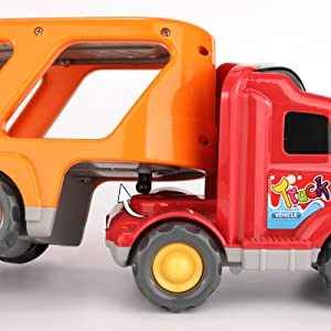 trucks for 2 year old boys  pull back cars  car toys for toddlers 1-3