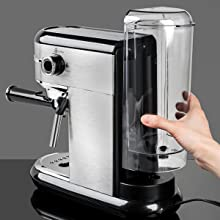 Barsetto expresso machine espresso coffee maker latte machine coffee machine with steam wand