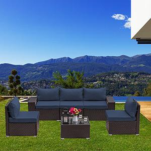 outdoor sectional patio furniture set