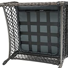 4 Pieces Outdoor Patio Furniture Sets Rattan Chair Wicker Set