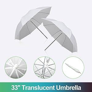 33'' Translucent Umbrella
