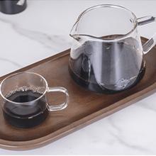 CrossCreek White Ceramic Coffee Dripper with 650ml Glass Server Part 4
