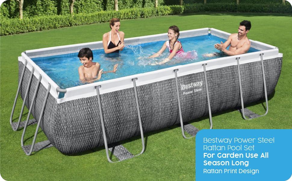 Pool, pool set, swimming pool, family pool, garden pool, above ground pool, bestway pool