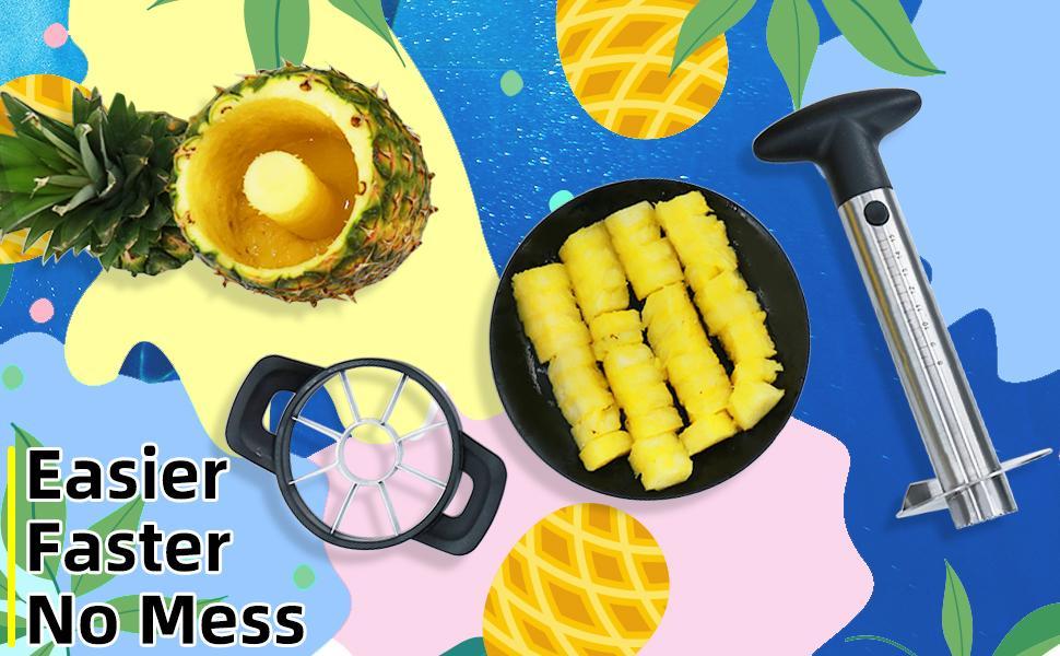 Newness Pineapple Corer and Slicer Tool