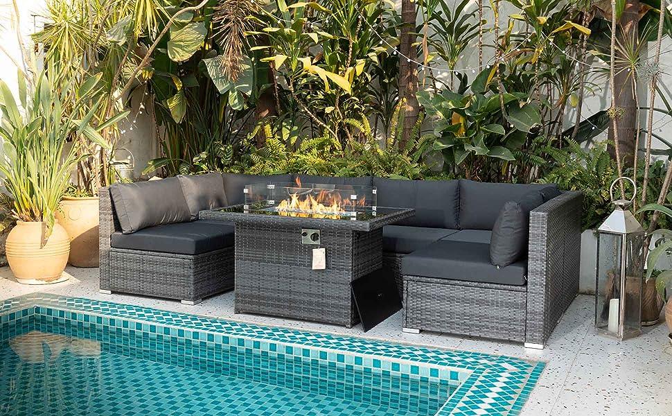sofa set outdoor furniture patio furniture conversation set wicker outdoor patio set