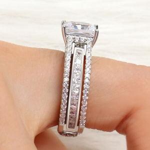Fake Diamond Anniversary Ring
