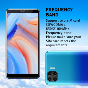 Support two SIM card 3GWCDMA : 850/2100/MHz Frequency band
