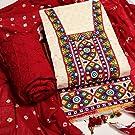 Bandhani suit piece