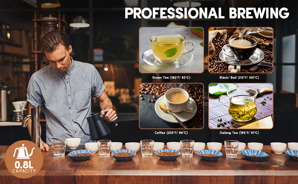 Professional brewing