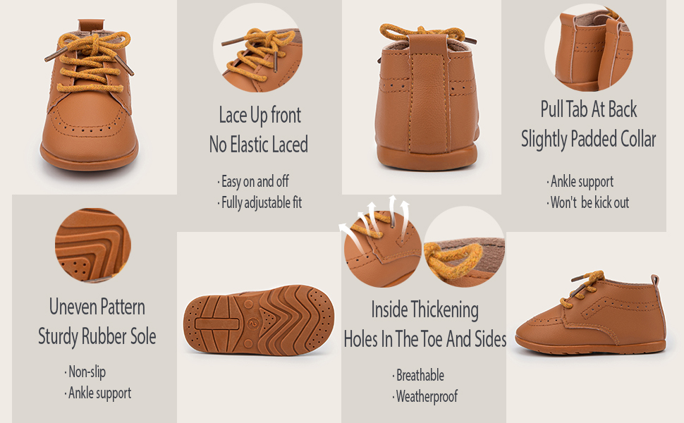 About these baby oxford loafer lazy shoes details