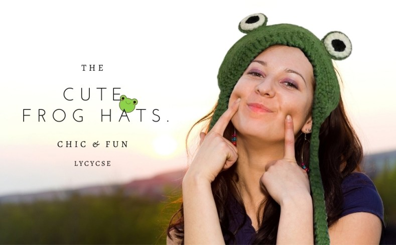 funny frog hats