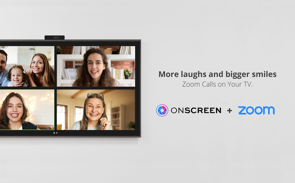 zoom calls on your tv, zoom meetings on your tv