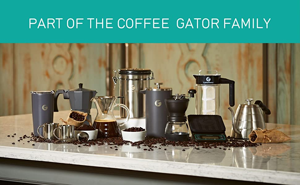 Part of the Coffee Gator Family