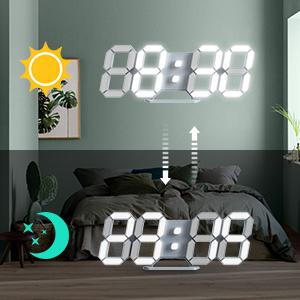 clock for bedroom
