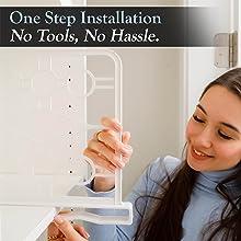 One step installation