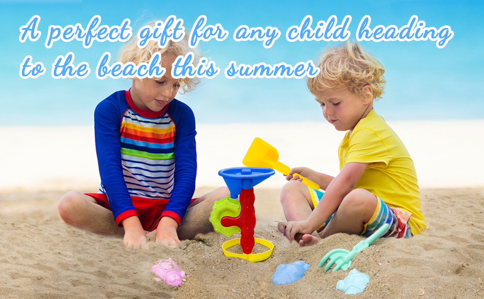 A perfect gift for any child heading to the beach this summer