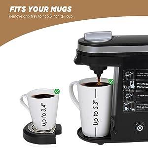 fit different size mug