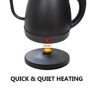 Quick & Quiet Heating