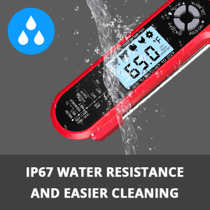 IP67 Water Resistance and Heavy-duty Quality