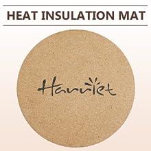 GIfted heat insulation mat