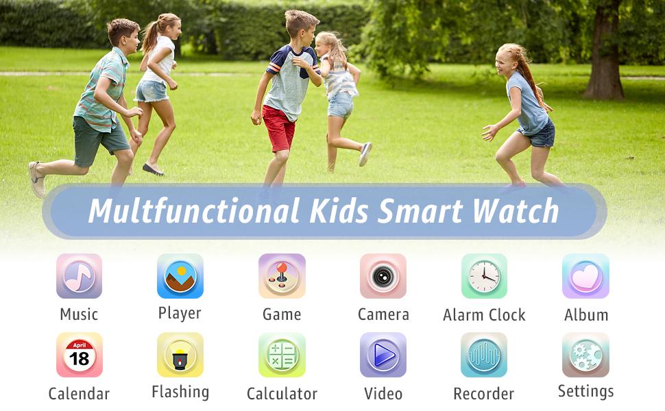Multifunction kids smart watch