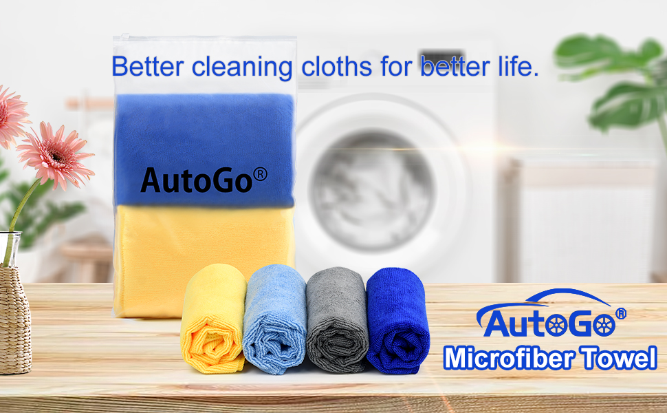 microfiber cleaning cloth pack of 8 -- 6