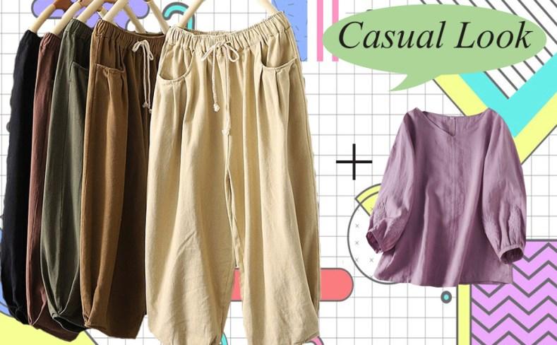 minibee cotton pants