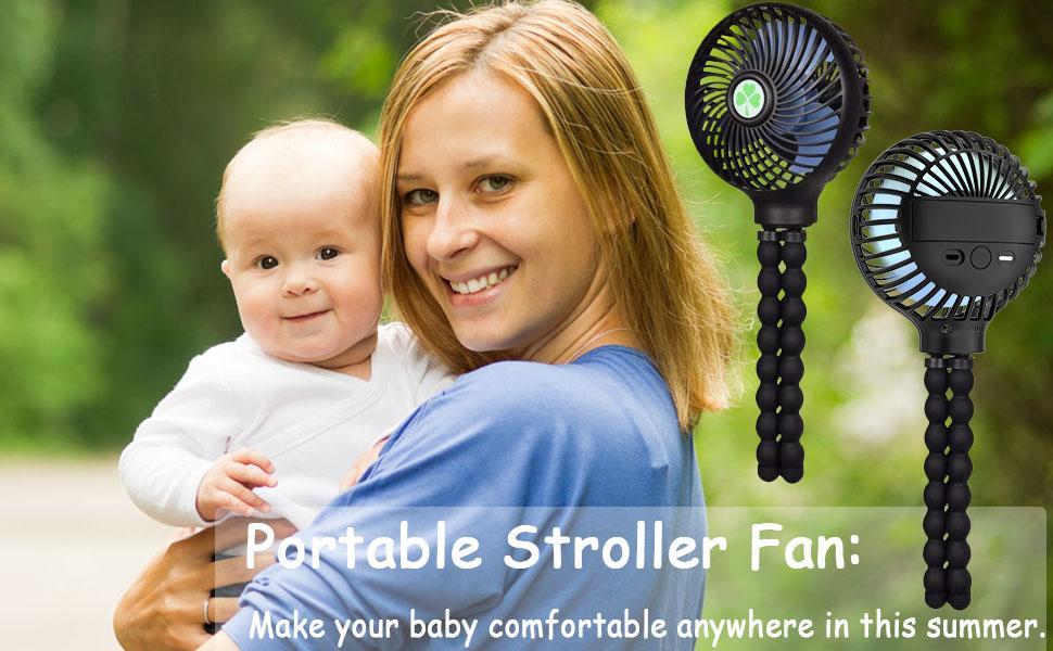 Handheld Personal Portable Fan