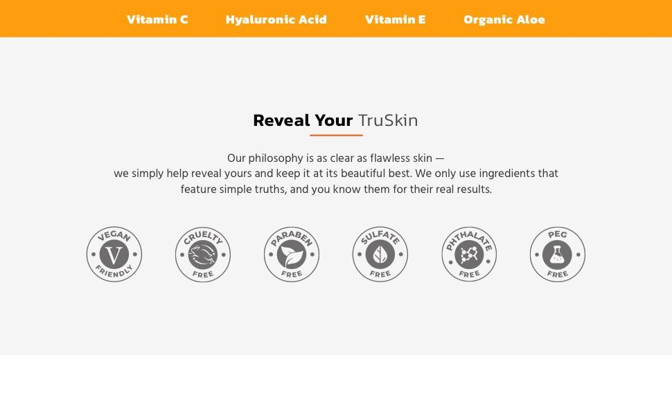 Reveal your TruSkin with Vitamin C Serum