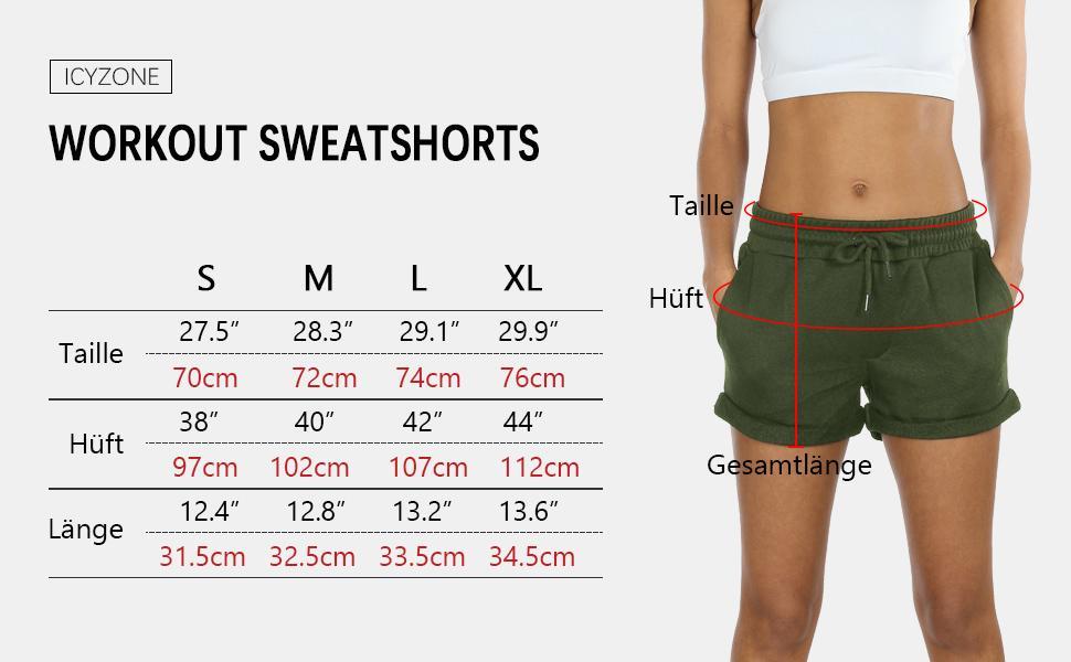 sweathose kurz short