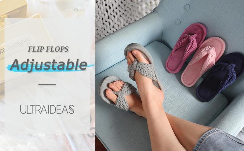 adjustable flip fliops