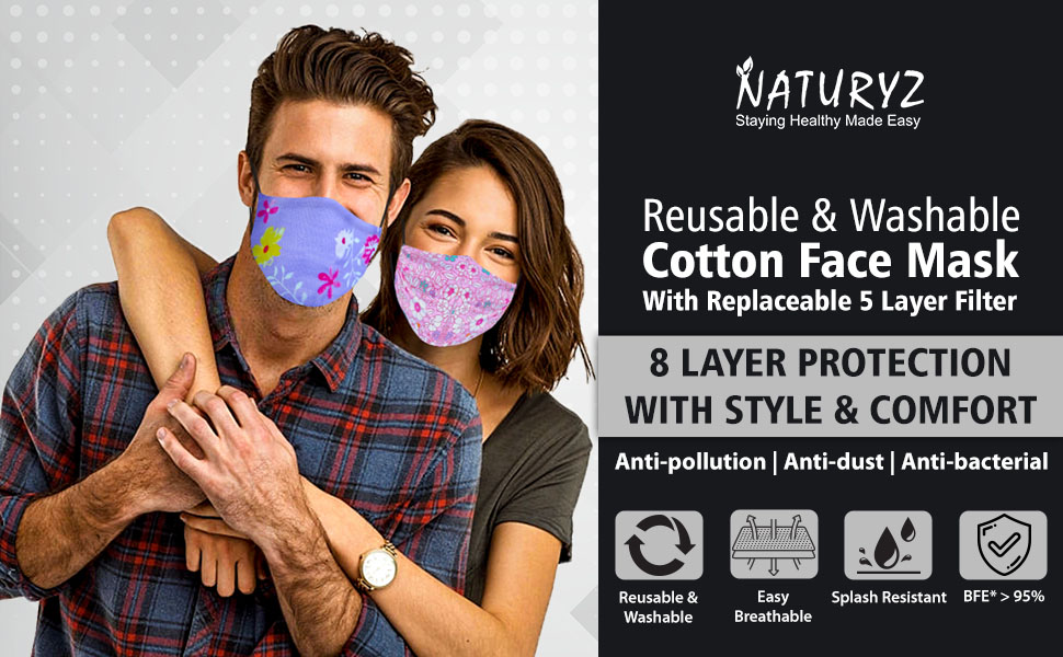 cotton mask for women
