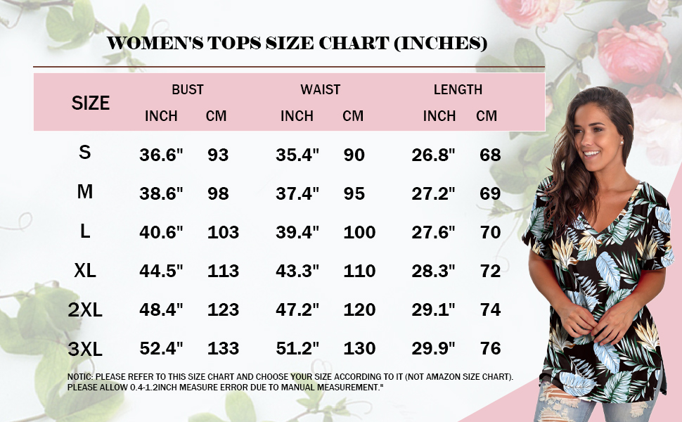 womens tops summer casual