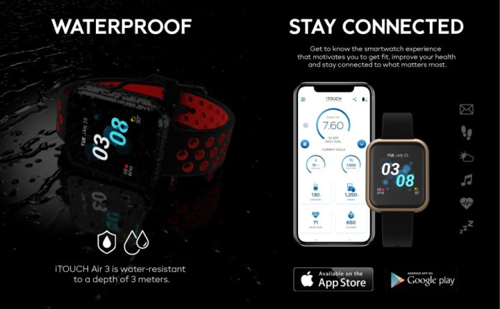 Waterproof and stay connected app