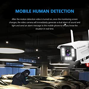 notification Motion detection cctv camera human detection mobile notification