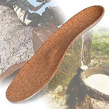 Cork & Natural Latex Footbed