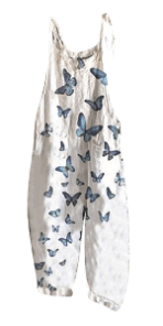 Butterfly Overalls for Women