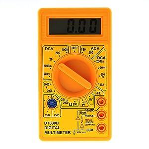 DT830D LCD Display Digital Multi-meter Digital Multimeter
