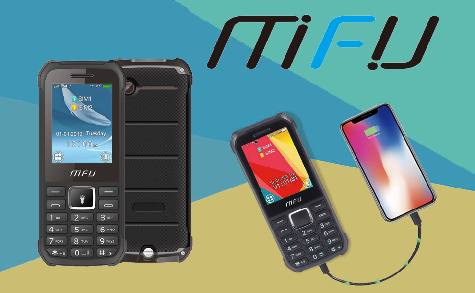 MFU A608 unlocked feature phone basic mobile phone cheap senior cell phone old phone