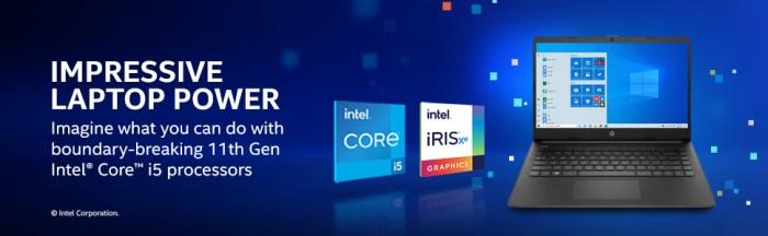11th Gen Intel Core i5 Processors