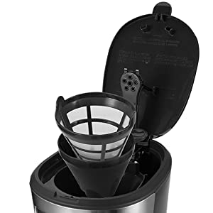 Gevi 5 Cups Small Programmable Coffee Maker A5