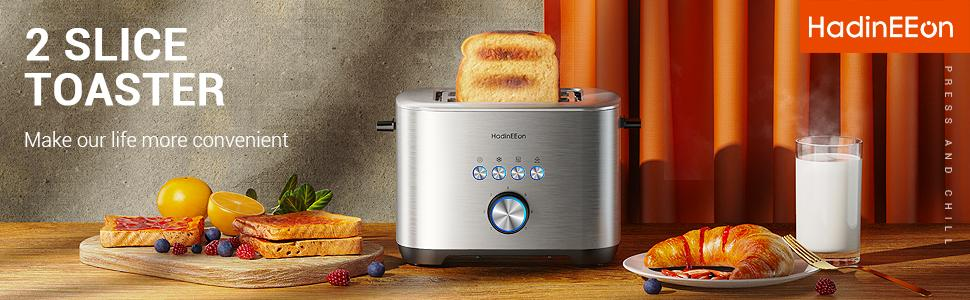 Great toaster makes delicious breakfast.