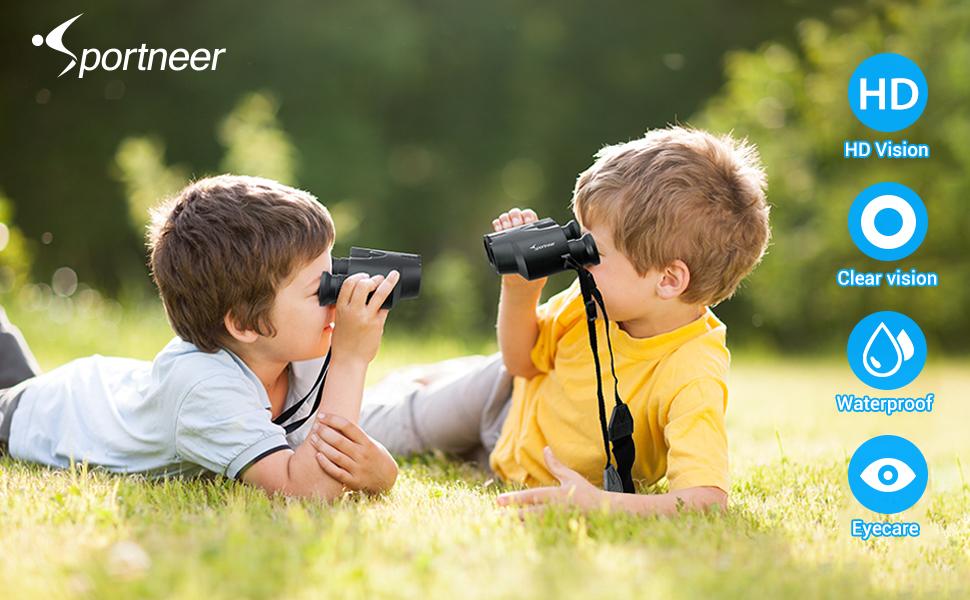 Sportnner binoculars