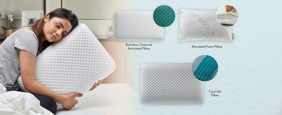 SOLARA Memory Foam Pillows