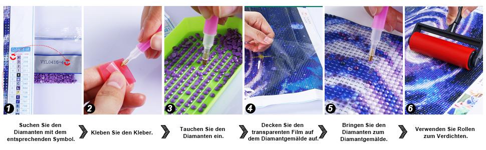 5D Diamond Painting Kits