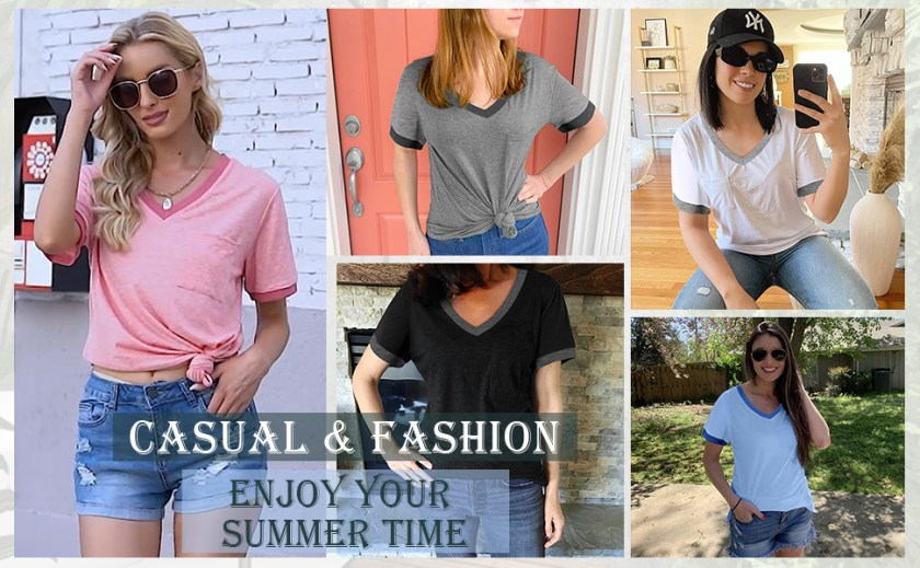 casual  t shirt for women