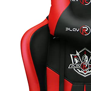 Ergonomics, tall game chair, cheap office chair, comfortable computer chair, racing car, red, adult
