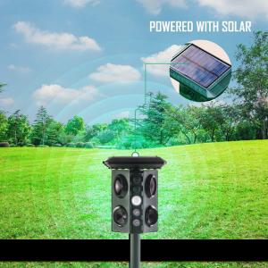 pest solar repellent, solar power animals