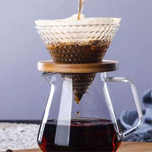 coffee machine pour over coffee maker set